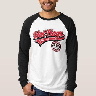 Der Baseball-Shirt heißer Hogs™ klassischer Männer T-Shirt