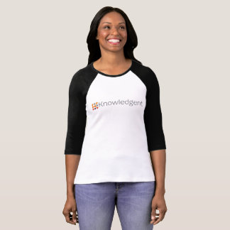 Der Baseball-Shirt Knowledgent Frauen T-Shirt