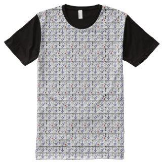 Der Baseball-Spielstandskarte der Männer T-Shirt Mit Bedruckbarer Vorderseite