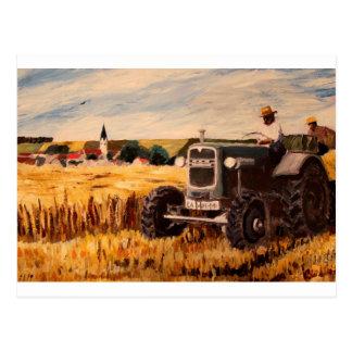 Der bayerische Bauer Postkarten