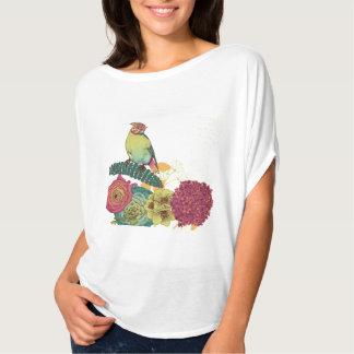 Der Bella der Frauen+Leinwand Flowy Kreis-Spitze T-Shirt