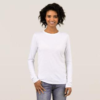 Der Bella der Frauen+Leinwand-langer Hülsen-T - Langarm T-Shirt