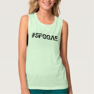 Der Bella SFGGAE Frauen+Leinwand Flowy Tank Top