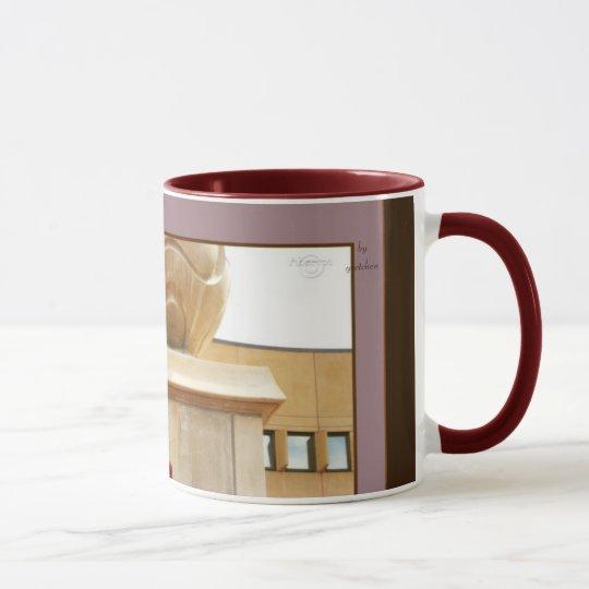 der bereich der spalte und rote kaffee tee tasse tasse. Black Bedroom Furniture Sets. Home Design Ideas