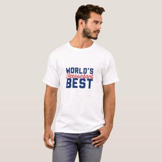 Der beste Buchhalter der Welt T-Shirt