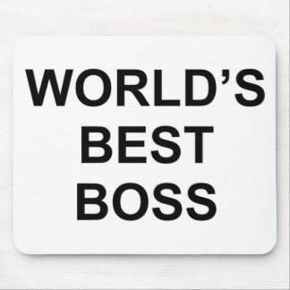 Der beste Chef der Welt Mousepads