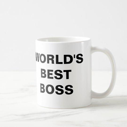 Der beste Chef der Welt Tasse