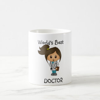 Der beste Doktor der Welt - niedliches weibliches Tasse