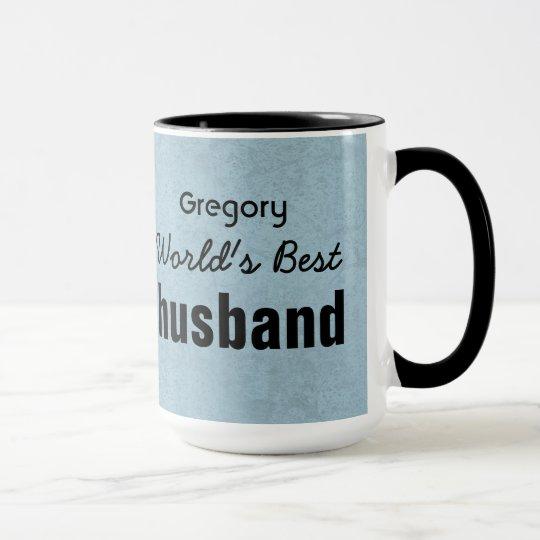 Der beste EHEMANN der Welt grüne und schwarze Tasse