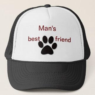 Der beste Freund-Hut des Mannes Truckerkappe