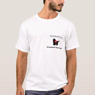 Der beste Freund-kleiner Hund des Watermans T-Shirt