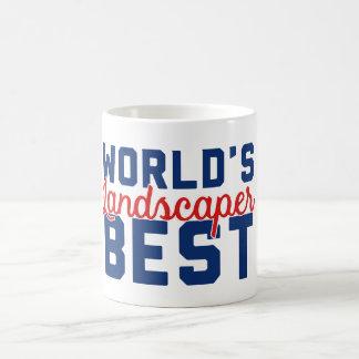 Der beste Landschaftsgestalter der Welt Kaffeetasse