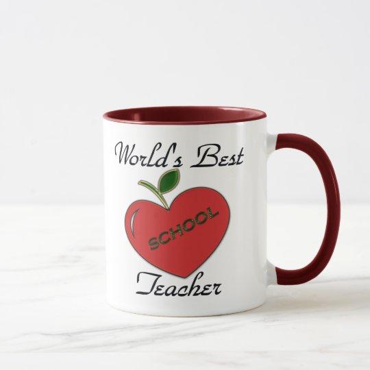 Der beste Lehrer der Welt Tasse