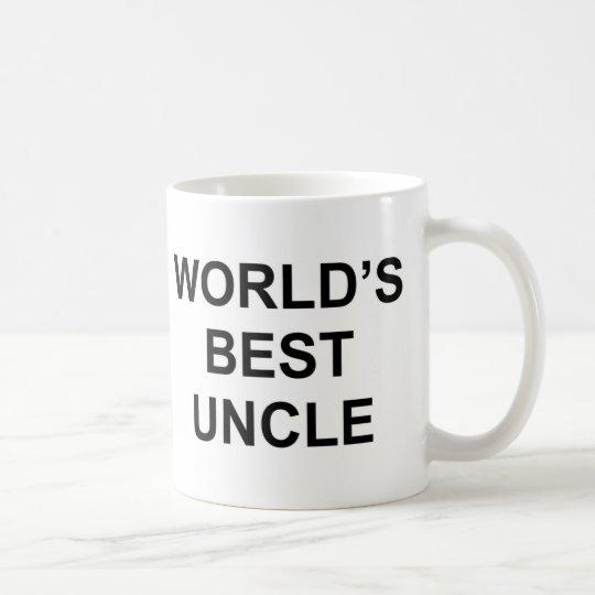 Der beste Onkel der Welt Kaffeetasse