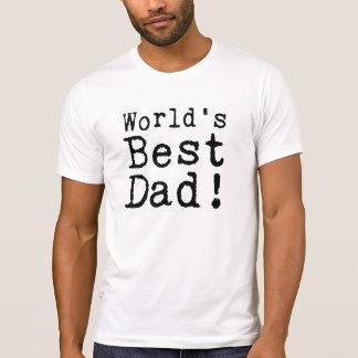 Der beste Vati der geschriebene Welt T-Shirt