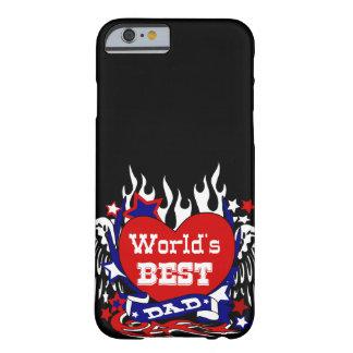 der beste Vati der Welt, der Vatertag, der Barely There iPhone 6 Hülle