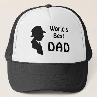 Der bester Vintager Vater der Welt/Vati-Hut Truckerkappe