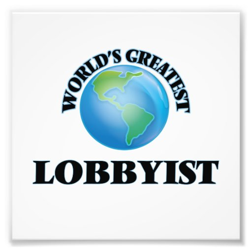 Der bestste Lobbyist der Welt Photographien