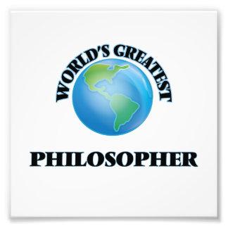 Der bestste Philosoph der Welt Kunst Foto