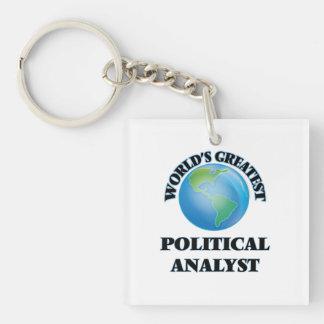 Der bestste politische Analytiker der Welt Schlüsselanhängern