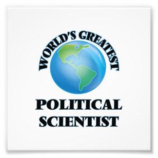 Der bestste politische Wissenschaftler der Welt Fotodrucke