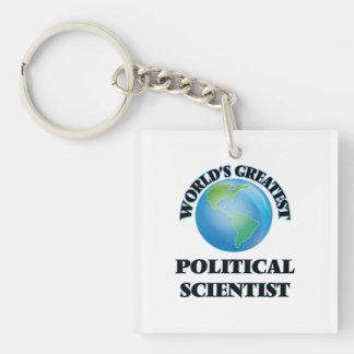 Der bestste politische Wissenschaftler der Welt Schlüsselanhängern