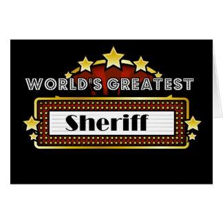 Der bestste Sheriff der Welt Karte