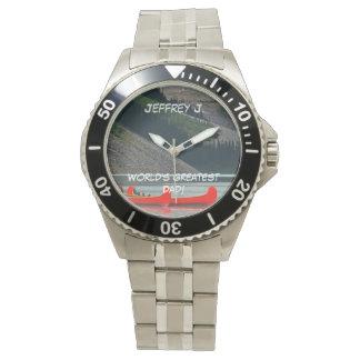 Der bestste Vati der Welt! Armbanduhr, Kanus, Mtns Uhr