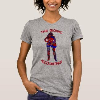 """""""Der bionische Buchhalter """" T-Shirt"""