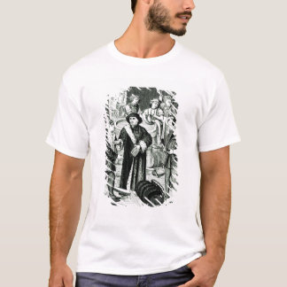 Der Bischof von Tournai den Tithe des Bieres T-Shirt