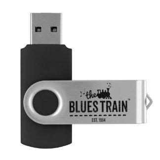 Der Blues-Zug 8gb USB-Antrieb Swivel USB Stick 2.0
