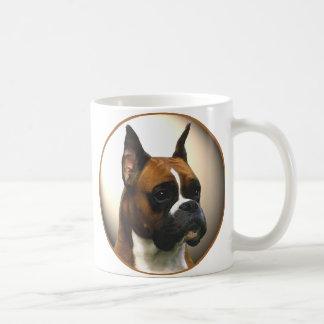 Der Boxer-Hund Kaffee Haferl