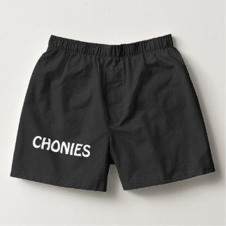 Der Boxer-Unterwäsche-Kurzschlüsse Chonies Männer Herren-Boxershorts