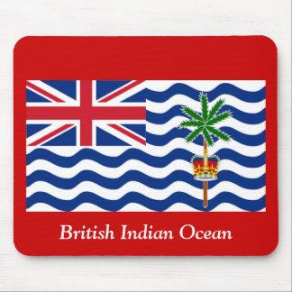 Der britische Indische Ozean Mauspad