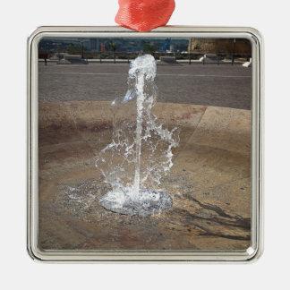 Der Brunnen Silbernes Ornament