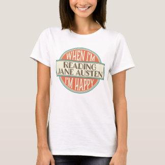 Der Buch-Liebhaber-Lesefrauen Janes Austen der T - T-Shirt