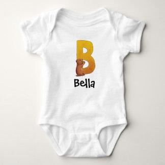 Der Buchstabe B Baby Strampler