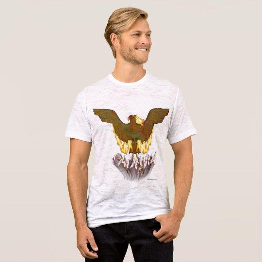 Der Burnout-T - Shirt goldener Männer Phoenix