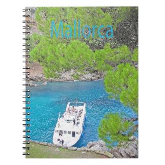 Der Calobra Mallorca Notizbuch von Spirale Spiral Notizblock