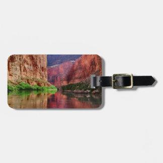 Der Colorado im Grand Canyon, AZ Gepäckanhänger