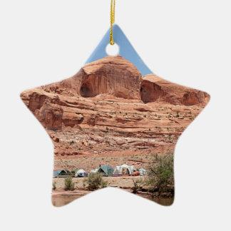 Der Colorado, Utah, USA Keramik Ornament