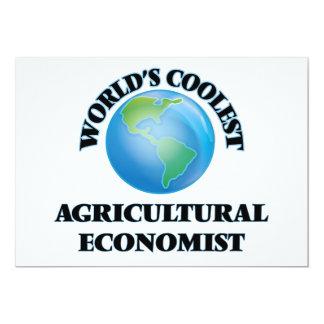 der COOLSTE Agrarwissenschaftler der Welten 12,7 X 17,8 Cm Einladungskarte