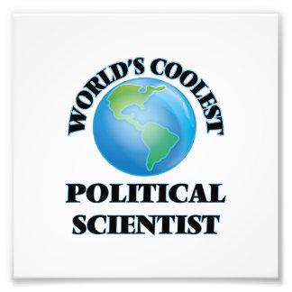 Der coolste politische Wissenschaftler der Welt Kunst Fotos