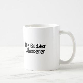 der Dachs Whisperer Tasse