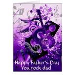 Der Day_ des glücklichen Vaters Mitteilungskarte