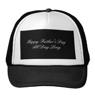Der DayAll des glücklichen Vaters Tag lang Mützen