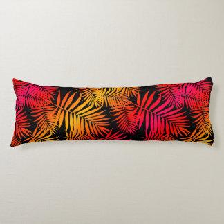Der Dekor-tropisches Palme-Blatt der jugendlich Seitenschläferkissen