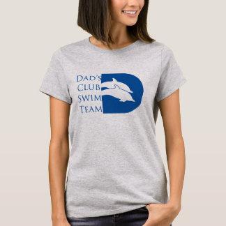 Der Delphin-T - Shirt der Frauen, grau