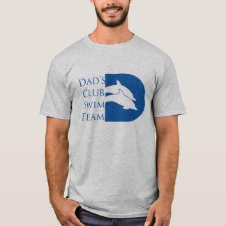 Der Delphin-T - Shirt der Männer, grau