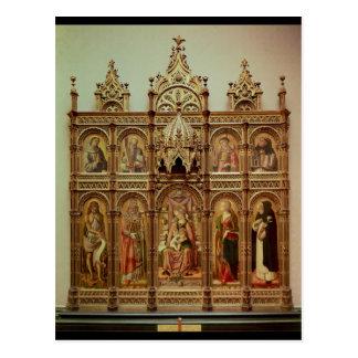 Der Demidoff Altarpiece, 1476 Postkarte